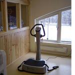 Vibrationsplattan, lätt träning för den otränade eller hård träning för den tränade